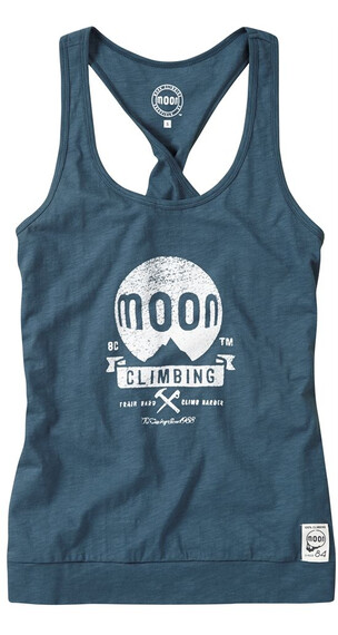 Moon Climbing W's Loose Fit Vest Indian Teal